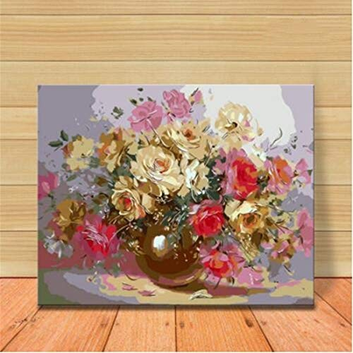 HATHAWAY Material Lona Lino DIY Digital Pintura Rose