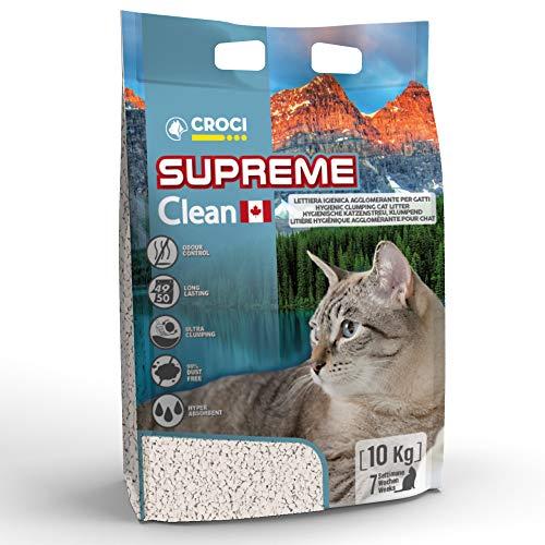 Croci C4025368 Lettiera Supreme con Bentonite Canadese 10 Kg