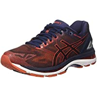 Asics Gel Nimbus 19, Zapatillas de Running Hombre, Azul (Peacoat/Red Clay/Peacoat), 42.5 EU