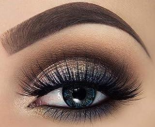 Tutti Cosmetic Monthly Contact Lenses, Blue Diamond - unisex