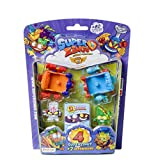 Superzings- Serie 5 - Blister AeroWagon con 4 figuras SuperZings (1 plateada) + 2 Aerowagons,...