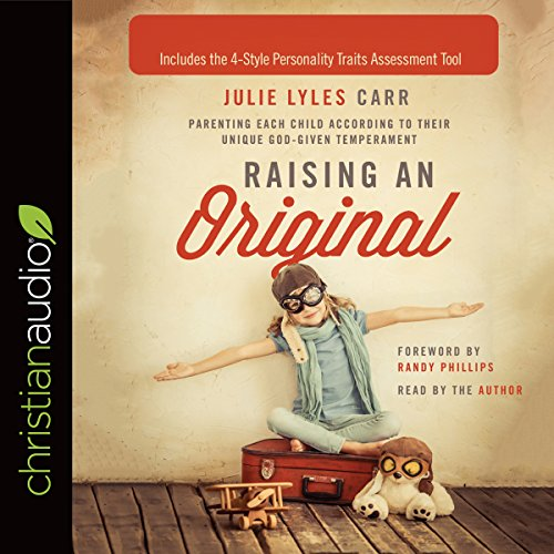 Raising an Original audiobook cover art