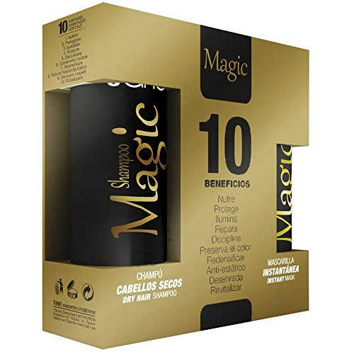 Tahe Magic Bx Pack de Mascarilla Instantánea y Champú para Cabello Seco 375 ml
