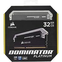 Corsair Dominator Platinum 32GB (2 x 16GB) PC4-25600 3200MHz DDR4 288-Pin DIMM Desktop Memory