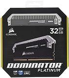 Corsair Dominator Platinum - Módulo de Memoria XMP 2.0 de Alto Rendimiento de 32 GB (2 x 16...
