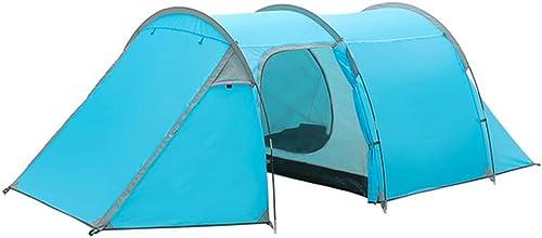 YHSFC Fait à la Main Soleil Prougeection Pluie Tunnel Tente Portable Camping Voyage Plein air Loisirs activité Wigwam