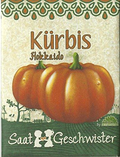 Die Stadtgärtner Kürbis-Saatgut | Samen für Hokkaido-Kürbisse im Garten, Balkon oder Terrasse | zum Selbstpflanzen!