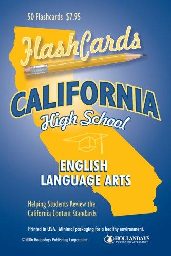 California High School English Language Arts Flashcards (English Edition)