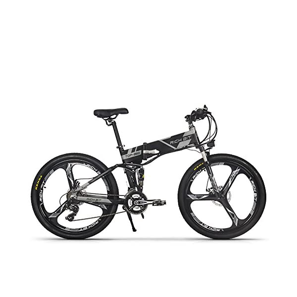 51QXD072HiL. SS600  - RICH BIT RT-860 36V 250W 12,8 Ah klappbares Elektrofahrrad Vollgefedertes City Bike Elek