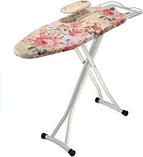 ChenCheng Ironing Board, Household Ironing Board, Folding Ironing Board, Iron Plate Height Adjustable Household Products (Color : G, Size : 110x30x87cm)