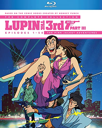 Lupin the 3rd: Part III Complete Series [Blu-ray]