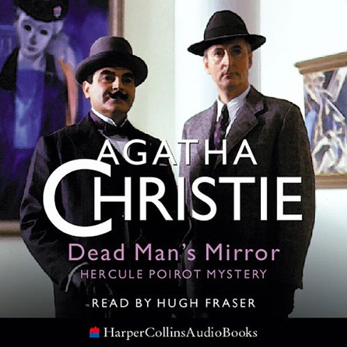 Dead Man's Mirror audiobook cover art