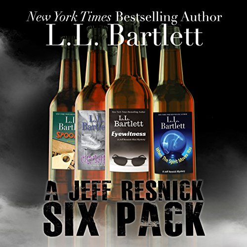 A Jeff Resnick Six Pack audiobook cover art
