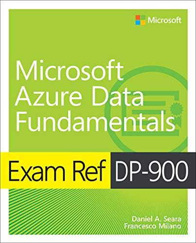 Exam Ref DP-900 Microsoft Azure Data Fundamentals Front Cover