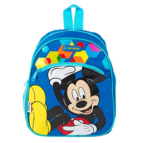 Samsonite 60323MICK Mickey Mouse Backpack | 7 L | for Kids, Schools, Holidays and More | Official Disney Product, Small