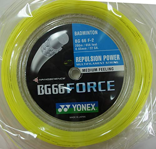 YONEX BG66Force Bobine cordage de Badminton...