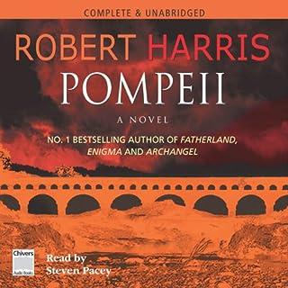 Pompeii audiobook cover art