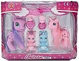 A to Z Unicorn Family Playset