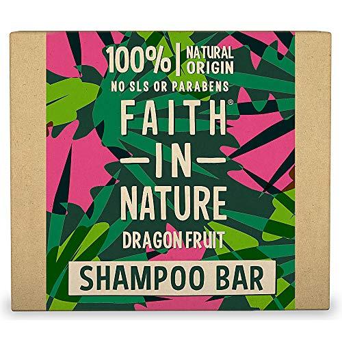 Faith in Nature Champú solido Dragon Fruit 100% natural vegan sin SLS