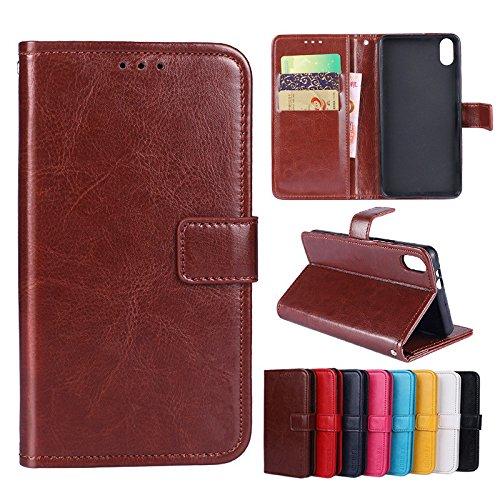 Custodia® Flip Brieftasche Hülle mit Standfunktion für Umi Umidigi A3 Pro/Umi Umidigi A3(Muster 8)