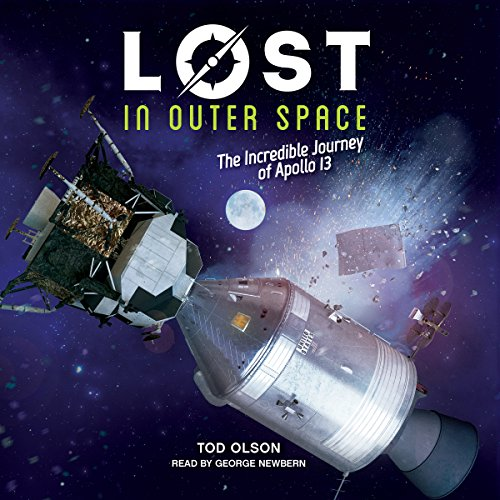 Lost in Outer Space audiobook cover art