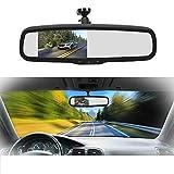 YMOTO SJY ACDD PZ705 422-A 4,3 Pulgadas TFT LCD Vista Trasera Monitor de la Vista Trasera para el automóvil Retroview Aparcamiento Sistemas de Video