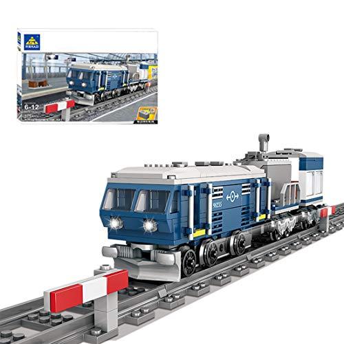 NFtop Technic Treno con Motore e Binario, City Treno Compatibile con Lego Technic - 375 Pezzi