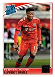 2018-19 Panini Donruss Soccer #176 Alphonso Davies Rookie Card - Rated Rookie. rookie card picture