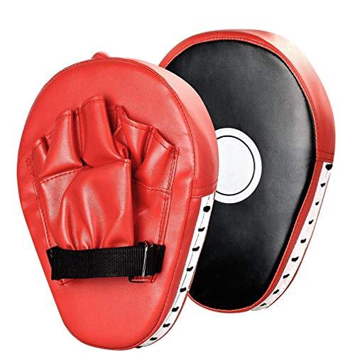 QZPM Los Mitones de perforación de Kickboxing Muay Thai Boxing MMA Mitts...