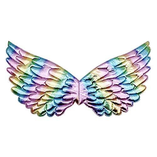 Engel flügel Kostüm, Weihnachten Halloween Einhorn Flügel Mädchen Fee Prinzessin Kostüm Zubehör Geburtstag Weihnachtsfeier