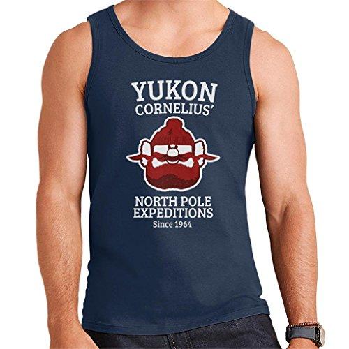 Rudolph The Red Nose Reindeer Yukon Cornelius Men's Vest