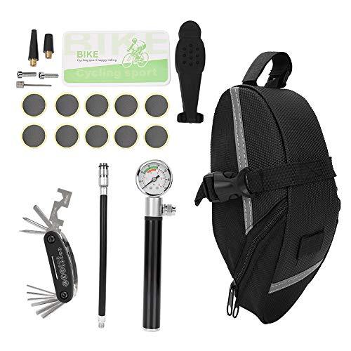 Kit de ferramentas para bicicleta, kit de ferramentas para mountain bike, peso leve prático e prático para mountain bike de estrada