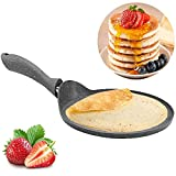 Pancake Maker Crepe Pan - Non-Stick Frying Pan for Healthy Cooking - PFOA