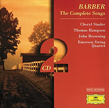 Barber: The Complete Songs