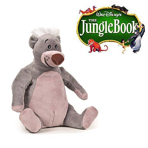 Famosa Softies - Peluche ours Baloo 25 CM Livre de la jungle - Qualité super soft