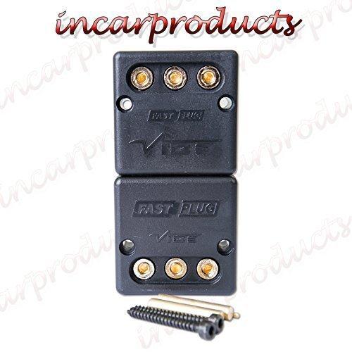 Vibe Audio Schnellverschluss Schnell Stecker Subwoofer Amp Verstärker Verbindung