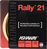 ASHAWAY Cordaje para Bádminton Rally 21 Set, Natural, 10 m