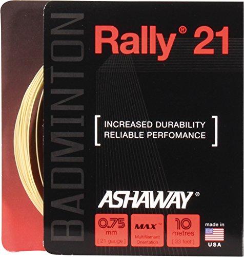 ASHAWAY Cordaje para Bádminton Rally 21 Set