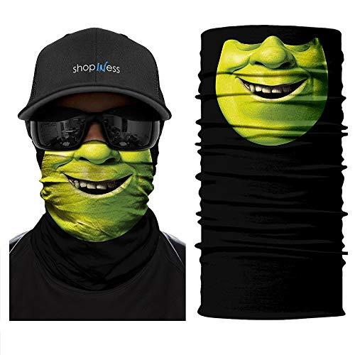 Multifunktions Schlauchschal - Shrek