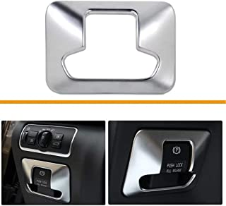 TULIN Car Electronic Hand Brake Button Trim Cover for Volvo XC60 XC70 S60 V60 S80 Car Styling Accessories