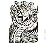 Tatuaje Temporal Maori dientes de tiburón tatuaje efímero Maori dientes de tiburón–avastore