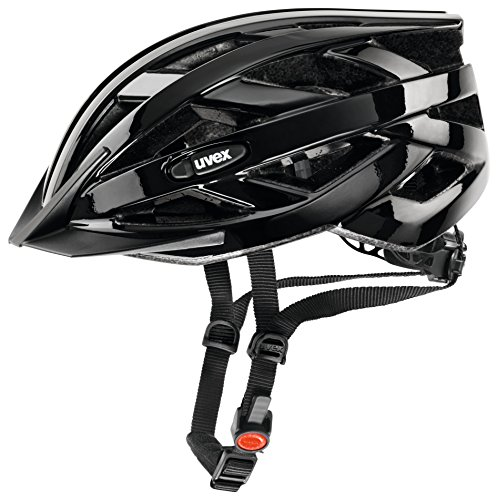 Uvex Erwachsene I-Vo Fahrradhelm, schwarz, 56-60 cm