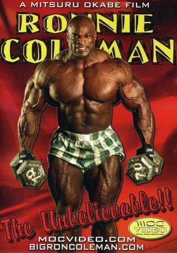Animer and price revision Ronnie Coleman: The Unbelievable cheap