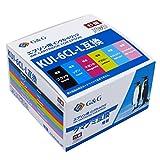 【ネット限定】G&G EPSON(エプソン) KUI-6CL-L「クマノミ」互換インクカートリッジ 6色セット 大容量【残量検知対応】対応機種:EP-880AB/ EP-880AN/ EP-880AR/ EP-880AW/ EP-879AB/ EP-879AR/ EP-879AW【1年保証】