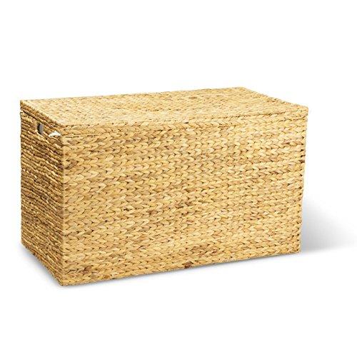 Wäschetruhe JONAS L – Wäschesammler – Wäschebox inkl. Wäschesack aus Baumwolle – 90x45x50 cm (L/B/H) – ca. 200 Liter – XXL Wäschetruhe – Wäschesortierer – Premium Wäschekorb