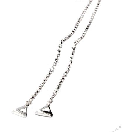 Rhinestone strap invisible anti-skid strap flashing sparse double row strap