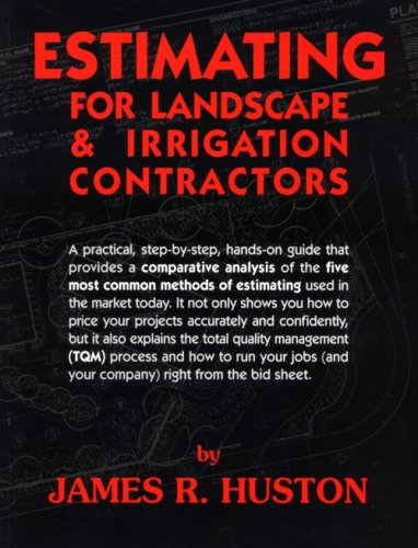 Download Estimating for Landscape and Irrigation Contractors 0962852120