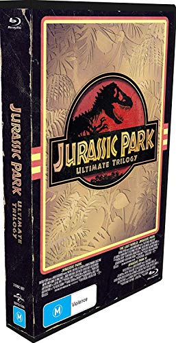 Jurassic Park Ultimate Trilogy (Limited Edition VHS Case) (Jurassic Park/The Lost World: Jurassic Park/Jurassic Park 3)