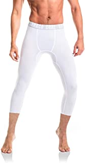 Men Youth Compression 3/4 Pants Sports Tight Baselayer Running Leggings Shorts Cool Dry