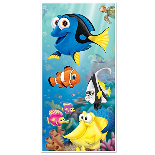 Beistle Under The Sea Door Cover, 30' x 5', Multicolor